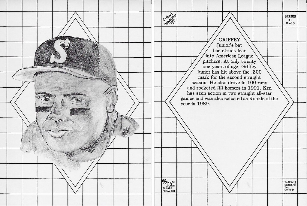 1992 Albright Ideas - Griffey Jr, Ken