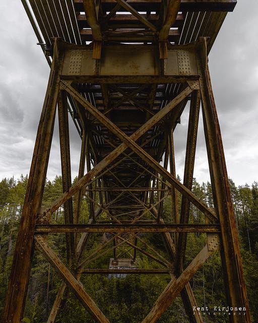 Arc bridge at Åmån