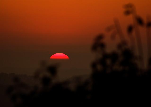Sunset, Rosendahl-Darfeld, 02.11.2015
