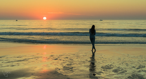 summer sunrise beach