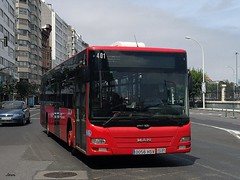 Man Lion,s Coach 401 Tranvias de La Coruña