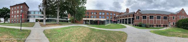 Clark University panorama