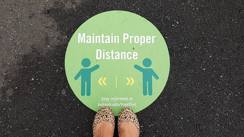 Maintain proper distance