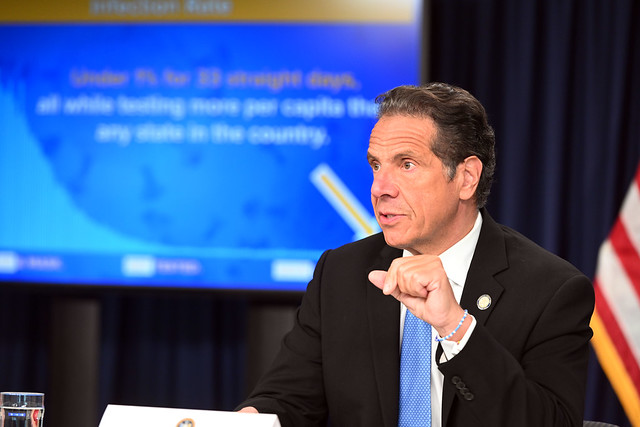 Governor Cuomo Announces NYC Restaurants Can Open up to 25% Capacity on September 30, 2020