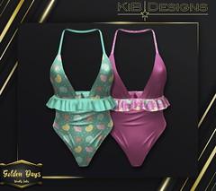 KiB Designs - Aroha Swimsuit @Golden Days