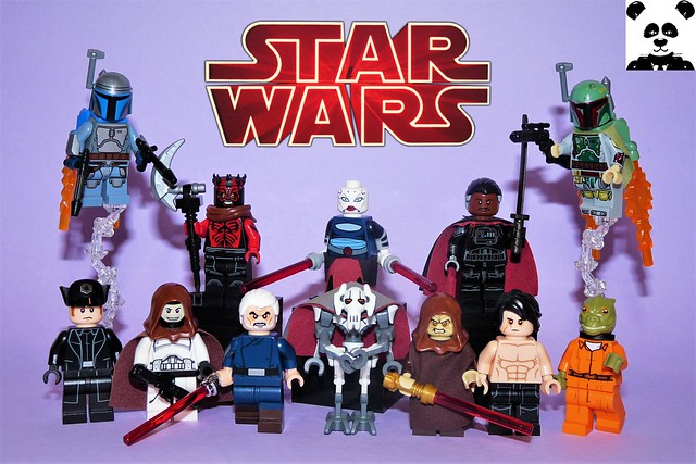 The Villains [Star Wars Minifigs #13]