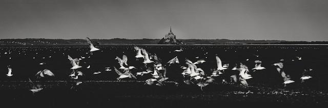 Saint-Michel à vol d'oiseaux