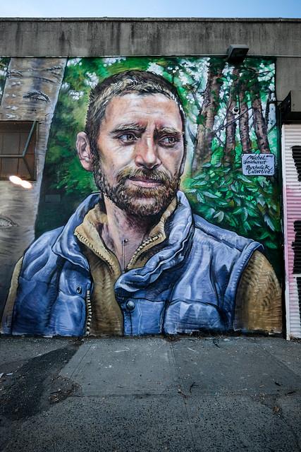 Michel Velt mural - Bushwick