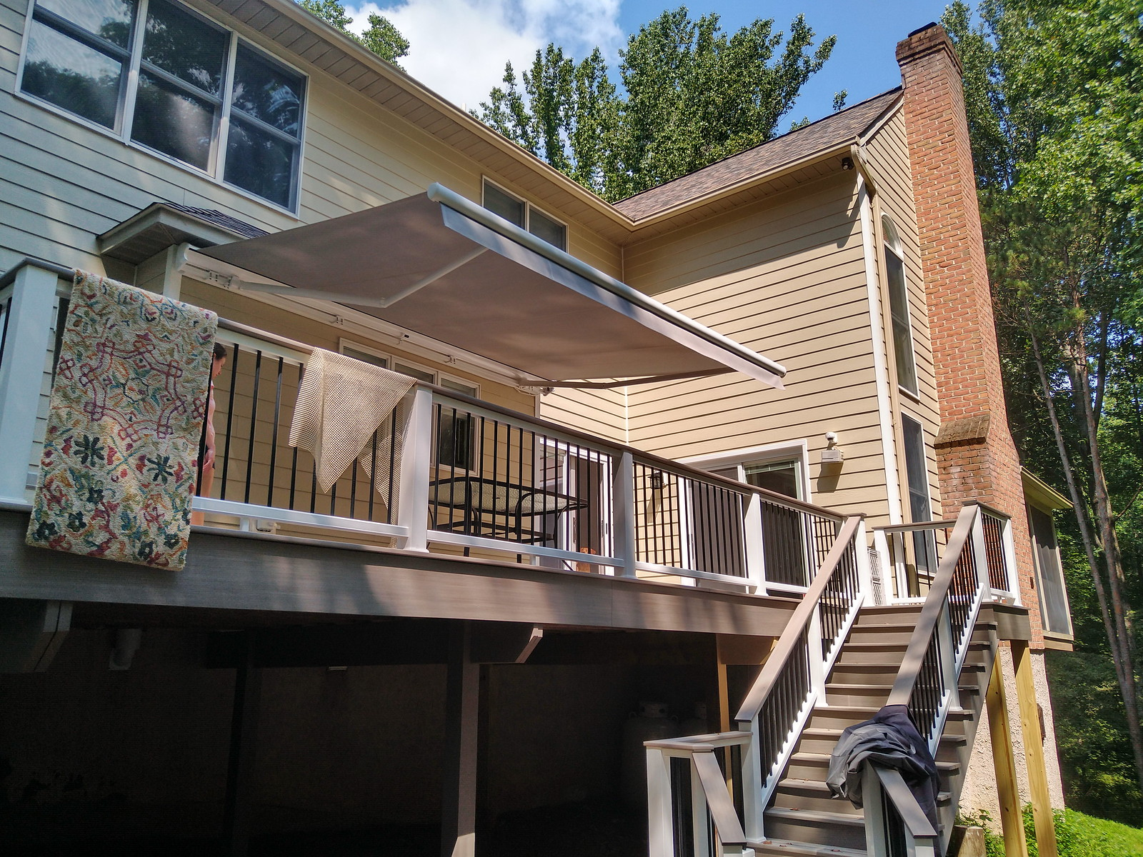Retractable Awning Straight Valance