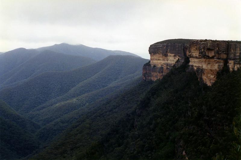 Kanangra Walls and Mt Cloudmaker