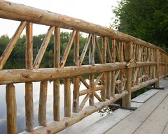 Mount Chocorua Lake Bridge Fence-7541