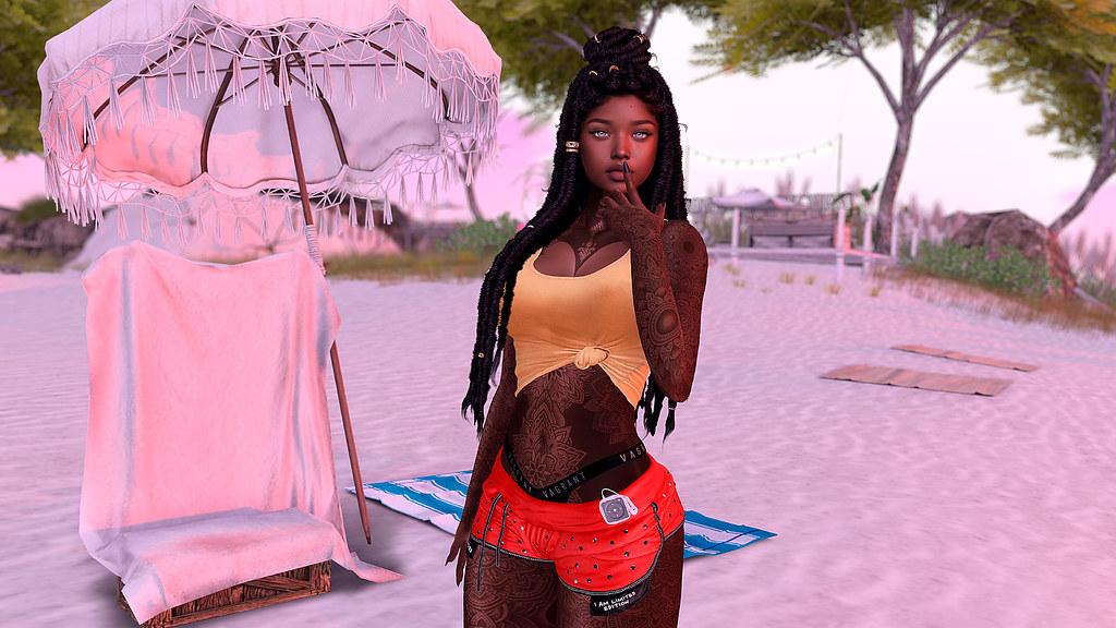Oya at the beach