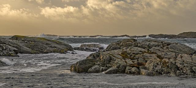 storm day at Flekkerøy