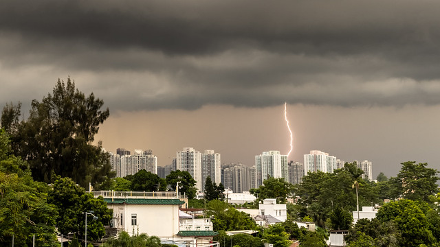 Storm over Tin Shui Wai