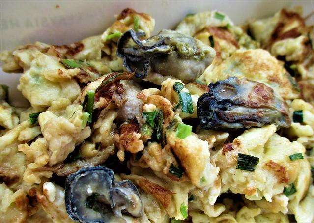 Jiali or chian/oyster omelette