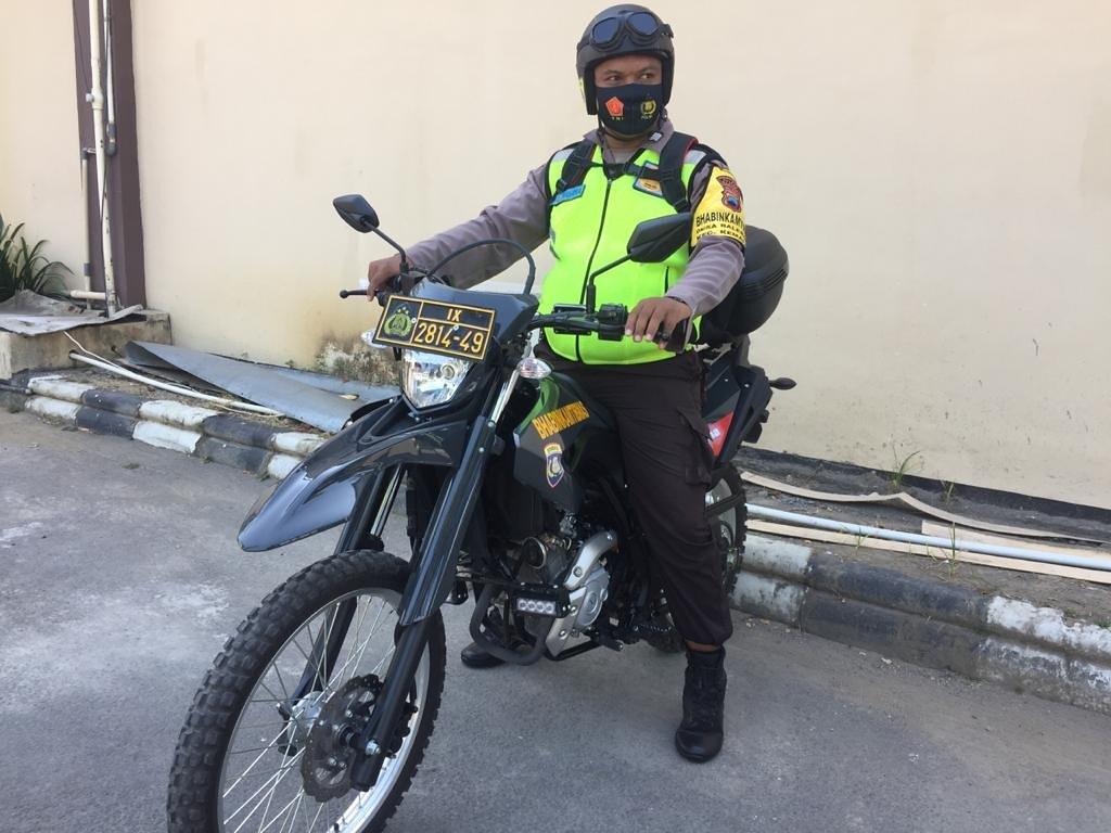 Yamaha WR 155R digunakan oleh Bhabinkamtibmas di Polda Jawa Tengah