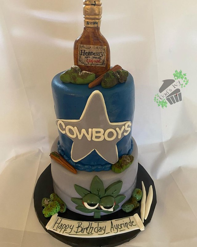 Cake by God's Ivy Cakes