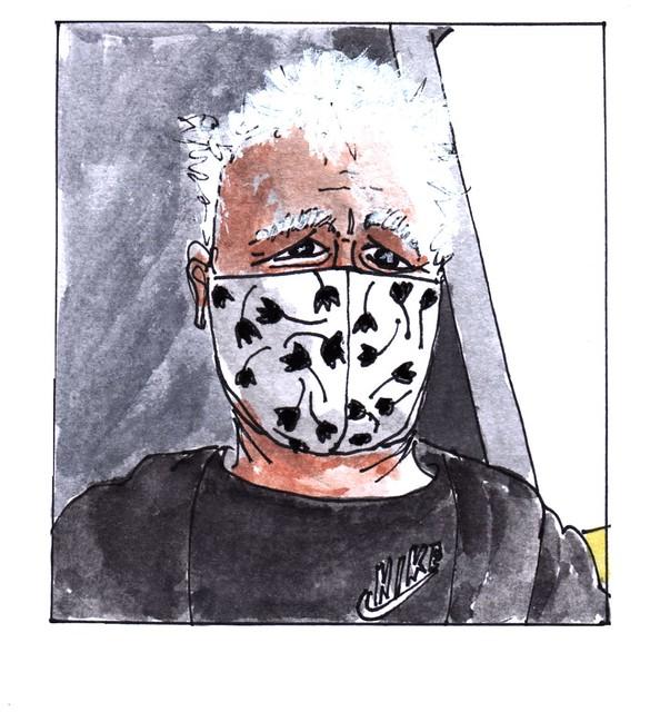 Mondkapje Jacques Tange / mouth cap