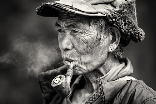 Myanmar, old man in Chin State | by Dietmar Temps