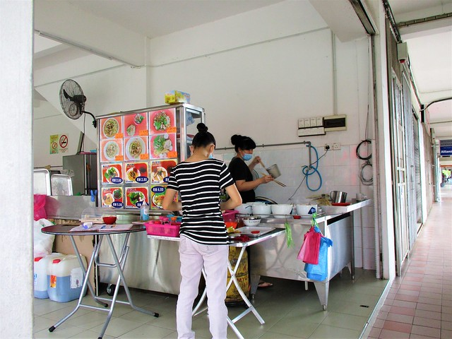 J.U. Cafe kampua mee stall
