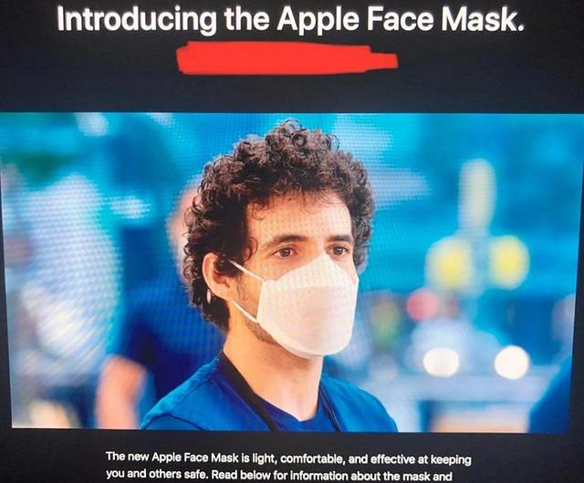 Apple Menghasilkan Pelitup Muka Buatan Sendiri Untuk Kegunaan Kakitangan