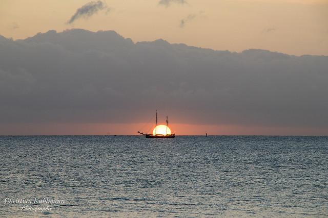 Sonnenaufgang an der Kieler-Förde