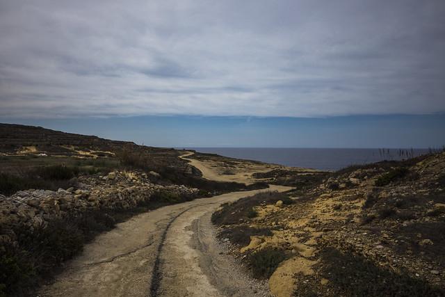 On the coast road