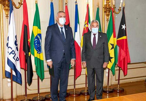 20.09. Secretário Executivo recebe cartas credenciais do Embaixador da Geórgia em Portugal