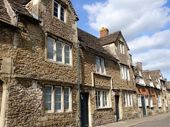 Village of Lacock in Wiltshire