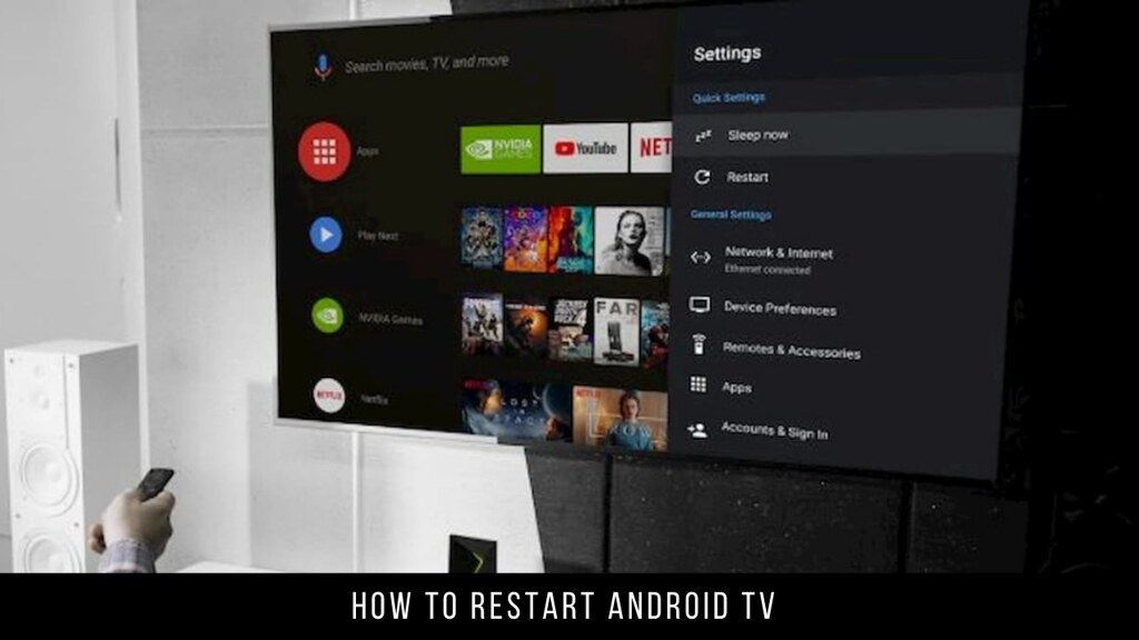 How to Restart Android TV