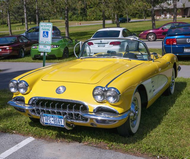 Chevrolet Corvette1958 - Pano 2tv-