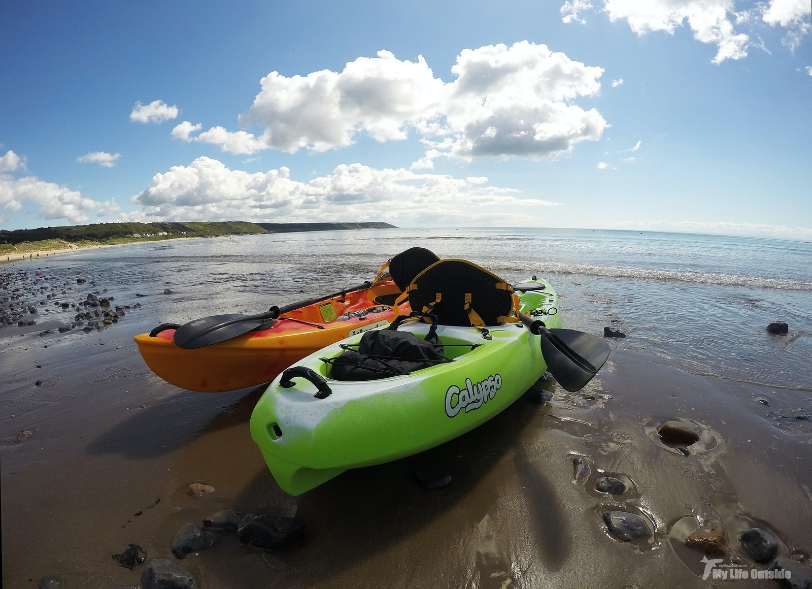 GOPR0354 - Port Eynon kayaking