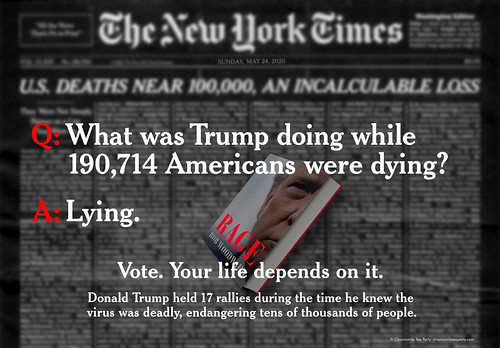 What Was Trump Doing While 190,714 Americans Were Dying?