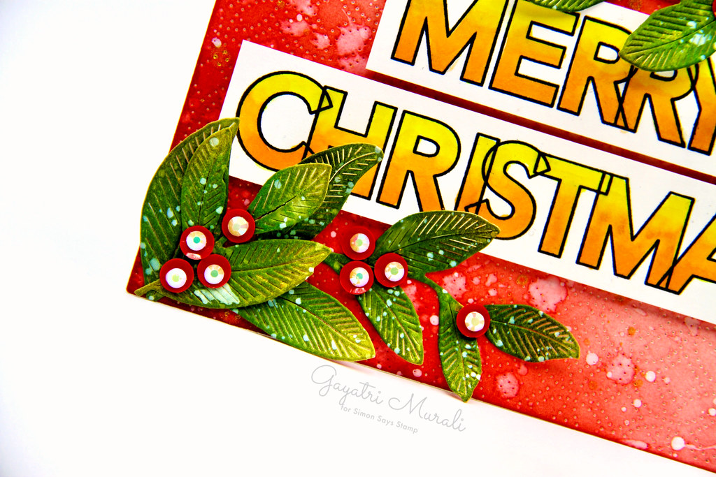Merry Christmas card1 closeup3