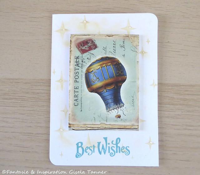 Bastelzeit - Geburtstagskarten für Ihn