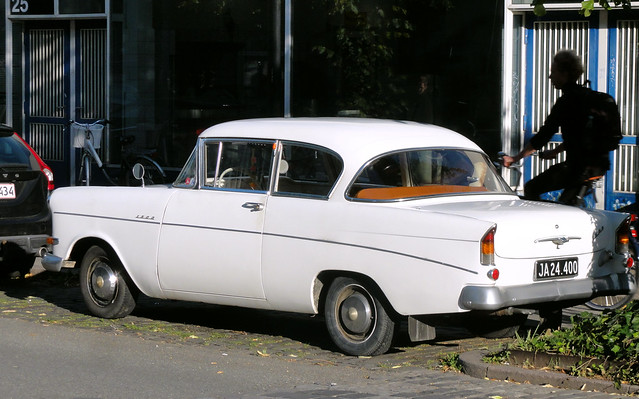 1962 Opel 1500 JA24400 new on my local streets this summer