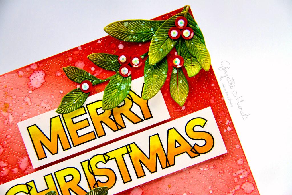 Merry Christmas card1 closeup2