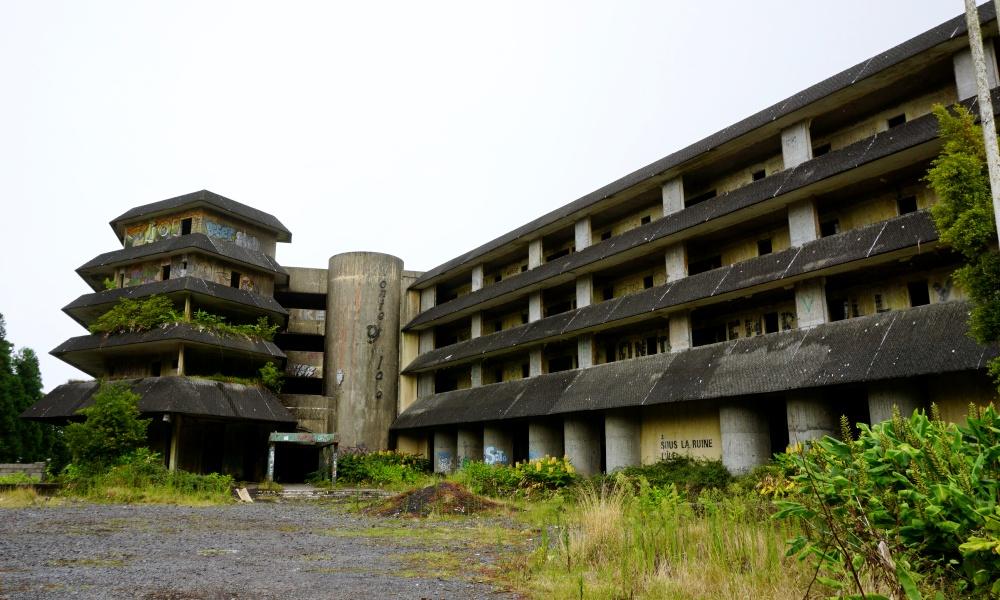 Abandoned Hotel Monte Palace