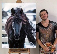 Hyper Realistic Painting Horse