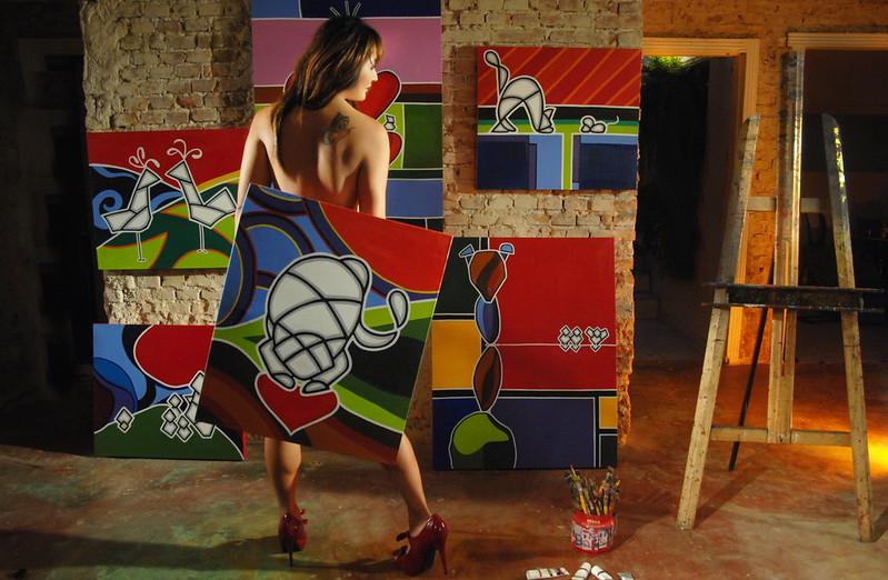 Suzy, Artista Plastica