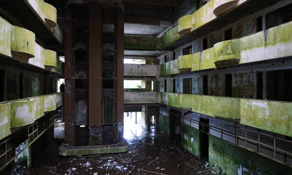 Monte Palace Hotel abandoned