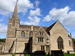 Church of St Cyriac in Lacock, Wiltshire