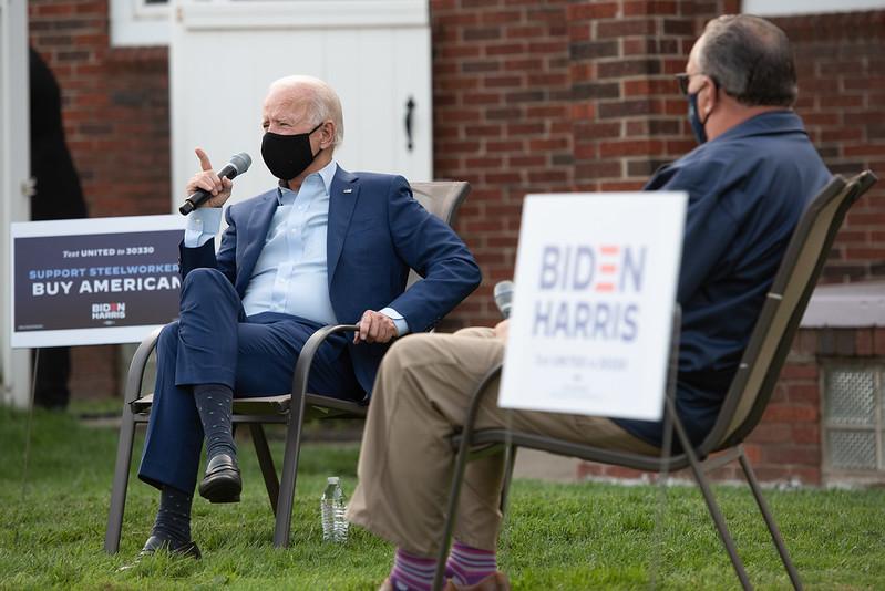 090920 Biden meets with USW in Detroit