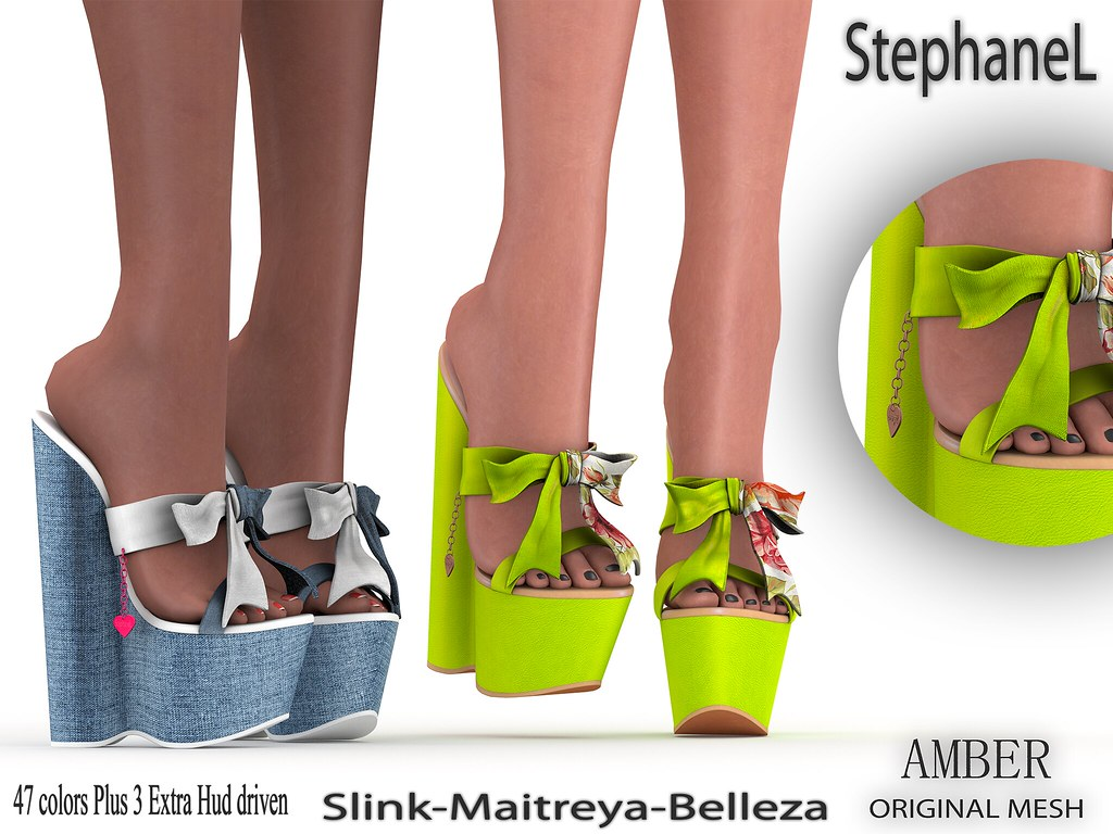 [StephaneL] AMBER SHOES FATPACK