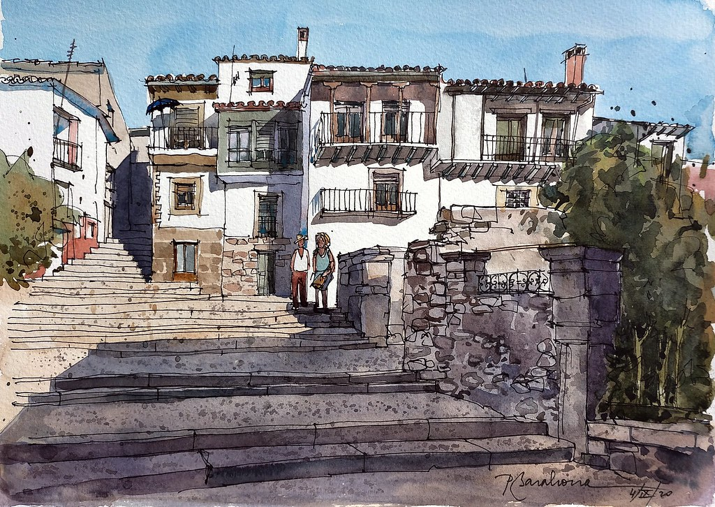 Baños de Montemayor casas