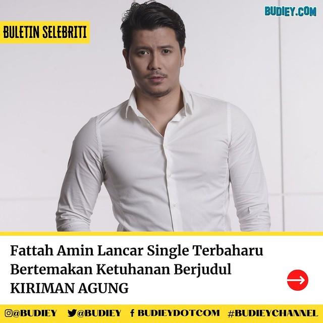Fattah Amin Lancar Single Bertemakan Ketuhanan Berjudul KIRIMAN AGUNG