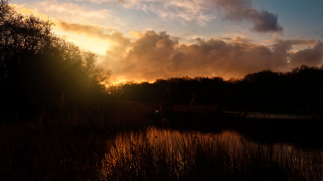 'Sunrise at Ormesby Broad'