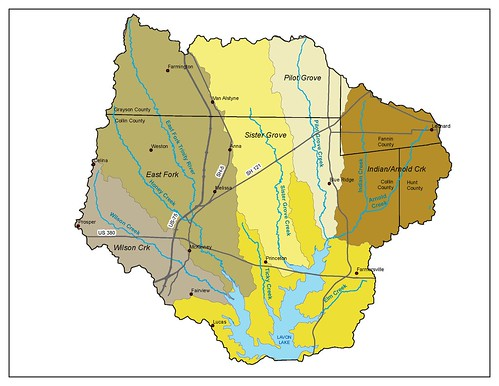 Lavon Lake Watershed