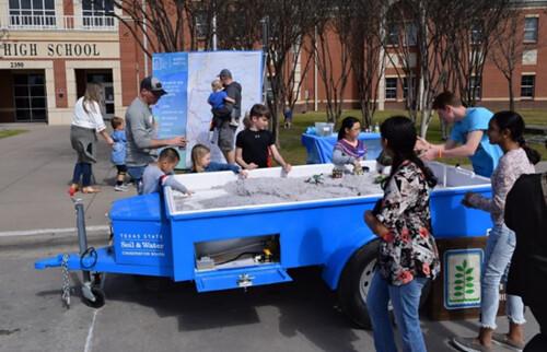Stream hydrology trailer