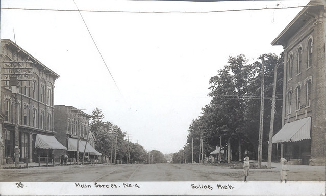Chicago Rd view West c. 1905